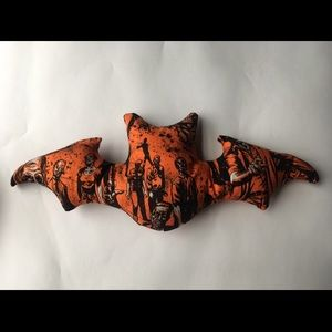 Other - Walking dead zombie print bat shaped pillow
